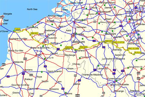 Ben Lovejoy - Germany map for garmin
